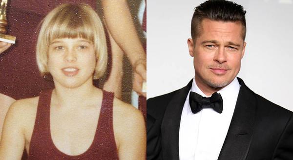 Как выглядели знаменитости в школьные годы. До и после, Школьные годы, Фотография, Длиннопост
