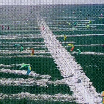 Кайт-серфинг в Кейптауне