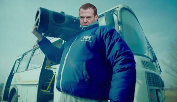 Медведев под дождём Тает лёд, Медведев, Дмитрий Медведев, Дождь, Photoshop, Фотожаба, Суровость