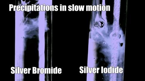 Серебро в гифках Металл, Гифка, Химия, Лига химиков, Серебро, Реакция, Эксперимент, Длиннопост
