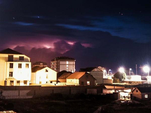 Грозы в Махачкале Махачкала, гроза, погода