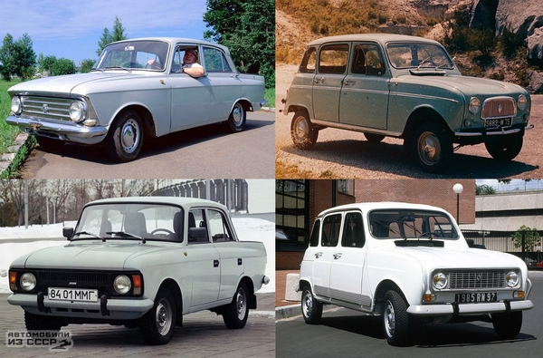 30 лет на конвейере Москвич, авто, советский автопром