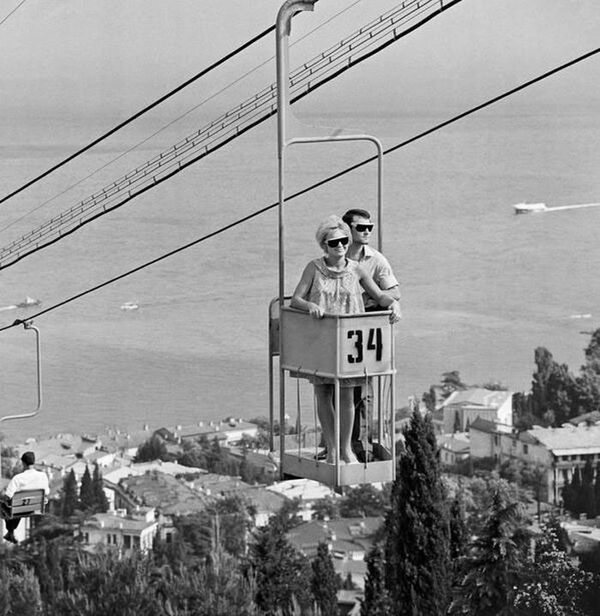 Крым. Ялта, 1968 год