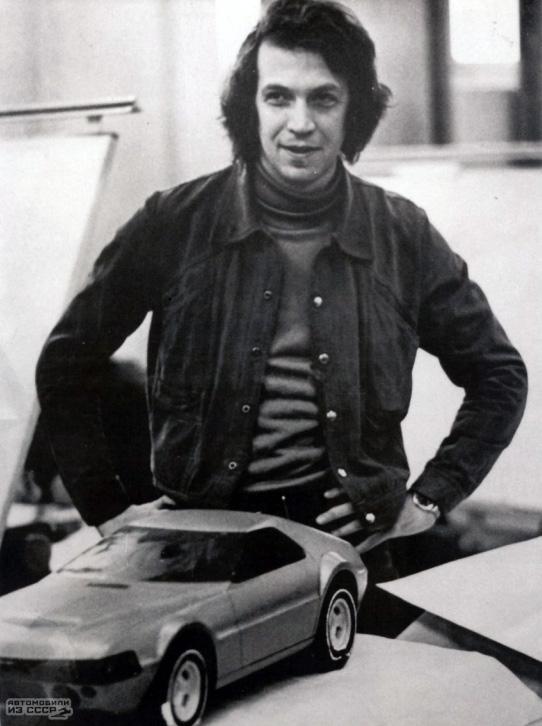 Ижевский автомобильный завод. 1975 год Авто, Ижавто, Прототип, Советский автопром