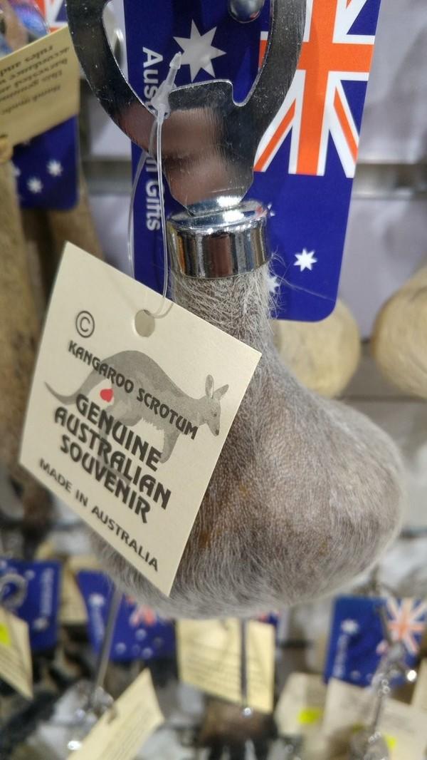 Когда часть кенгуру превратили в сувенир. Это тебе не  поделки с наших магазинов, это — Австралия