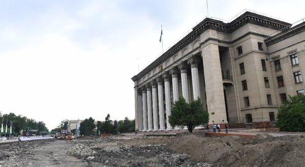 В центре Алматы нашли старинную брусчатку 30-х годов Алматы, Казахстан, реконструкция, дорога, история города, проект, видео, длиннопост