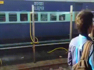 Бесплатный душ для пассажиров