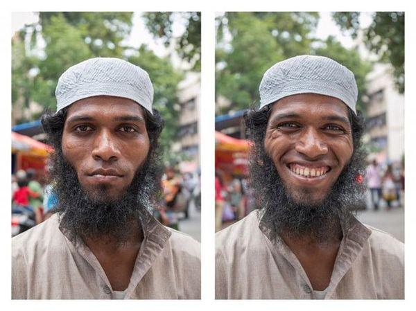 Улыбка меняет человека фотография, улыбка, добро, Смех, радость, лицо, позитив, от улыбки станет мир светлей, длиннопост