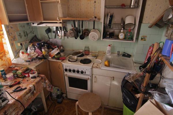 Впихнуть невпихуемое или кухня моей мечты Кухня, Очумелые ручки, Ремонт, Длиннопост