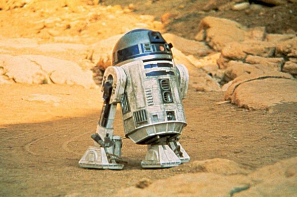 Оригинального R2-D2 продали на аукционе Star wars, Аукцион, R2D2, Дроиды