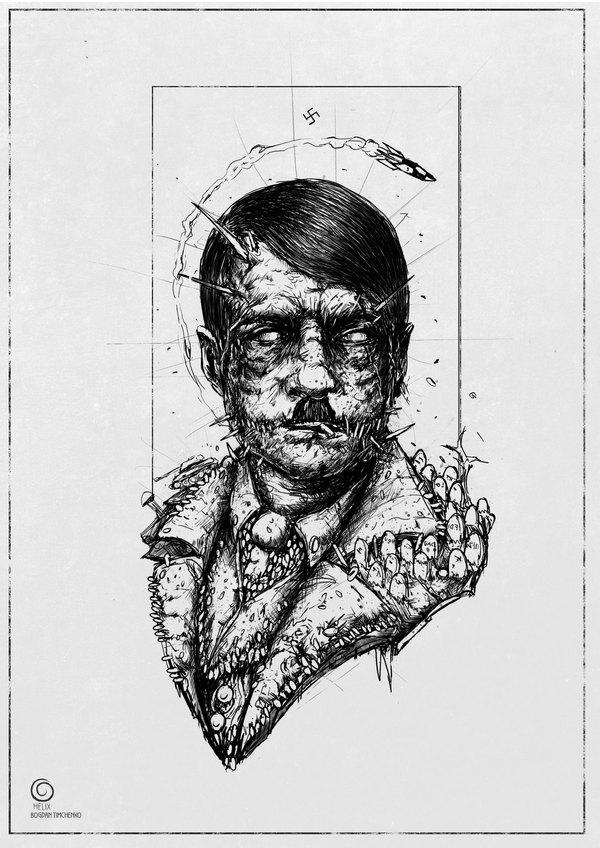 Гитлер Адольф Гитлер, нацизм, длиннопост