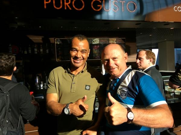 Встреча с легендой кубок конфедераций, кафу, Неожиданная встреча, легенды футбола, Бразилия
