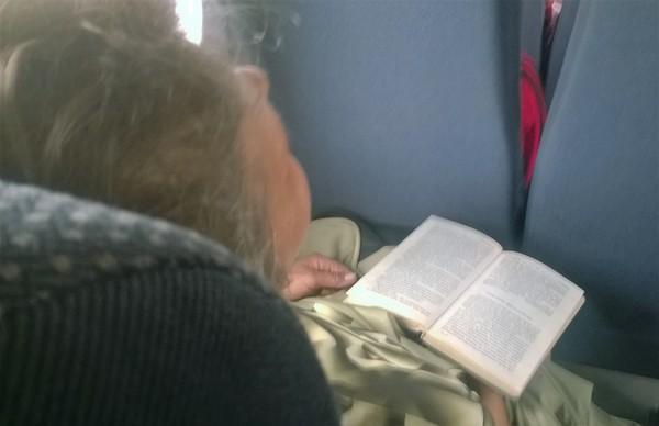 Бабушка в теме бабушка, сталкер, автобус