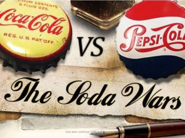coke and pepsi and price war and oligopoly Cola war continue: coke and pepsi in the as an oligopoly, or even a duopoly between coke with the consumer price indexcoke had negotiated.