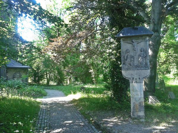 Немецкое кладбище XVII века Германия, кладбище, путешествия, длиннопост
