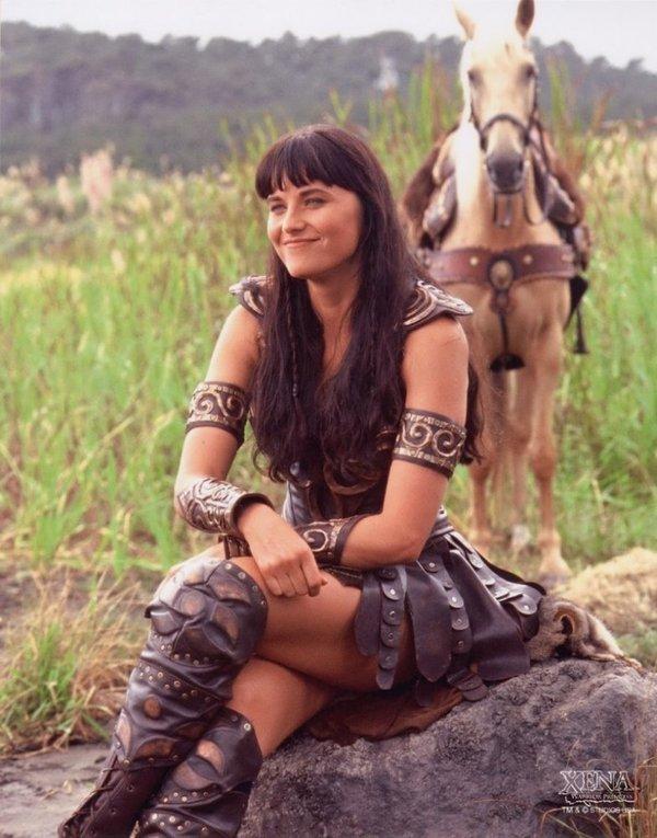 Сексуальные сцены из сериала зена королева воинов