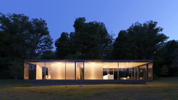 И кто-то из леса смотрит в ваши окна. Архитектура, Современная архитектура, Дизайн, Стеклянный дом, Длиннопост