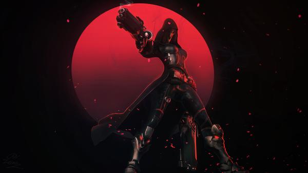 Overwatch Arts Overwatch, Widowmaker, Reaper, Zenyatta, Reinhardt, Lucio, Tracer, Арт, длиннопост