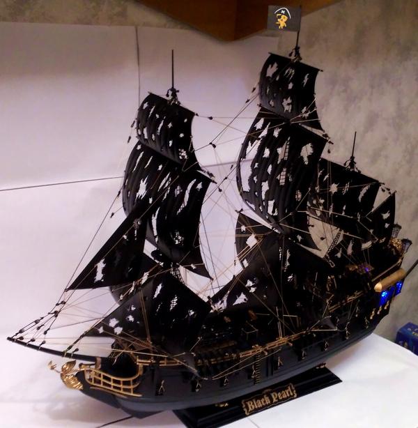 """Моя """"Черная жемчужина"""" и как это было Черная жемчужина, Модели, Масштаб, Пиратский Корабль, Своими руками, Длиннопост"""
