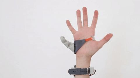 Для тех кому всегда не хватает гифка, Рука, 6, пальцы, Робот, киборги