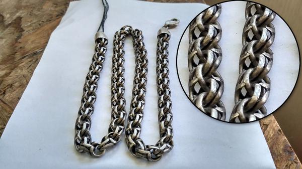 Как почистить серебряную цепочку серебро, Цепочка, чистка, нашатырь, полировка, длиннопост