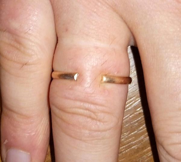 Кольцо. Обручальное кольцо, Проблема
