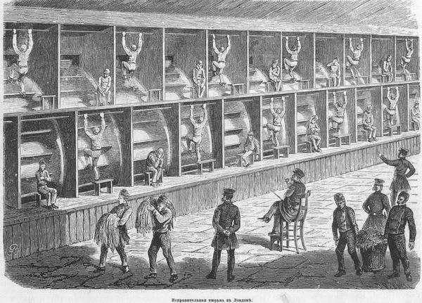 Исправительная тюрьма в Лондоне 1869 года тюрьма, Интересное, Лондон, зеки