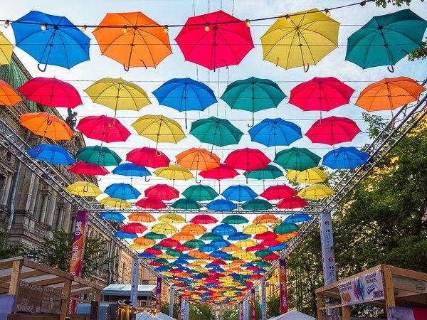 Аллея парящих зонтиков, Санкт-Петербург