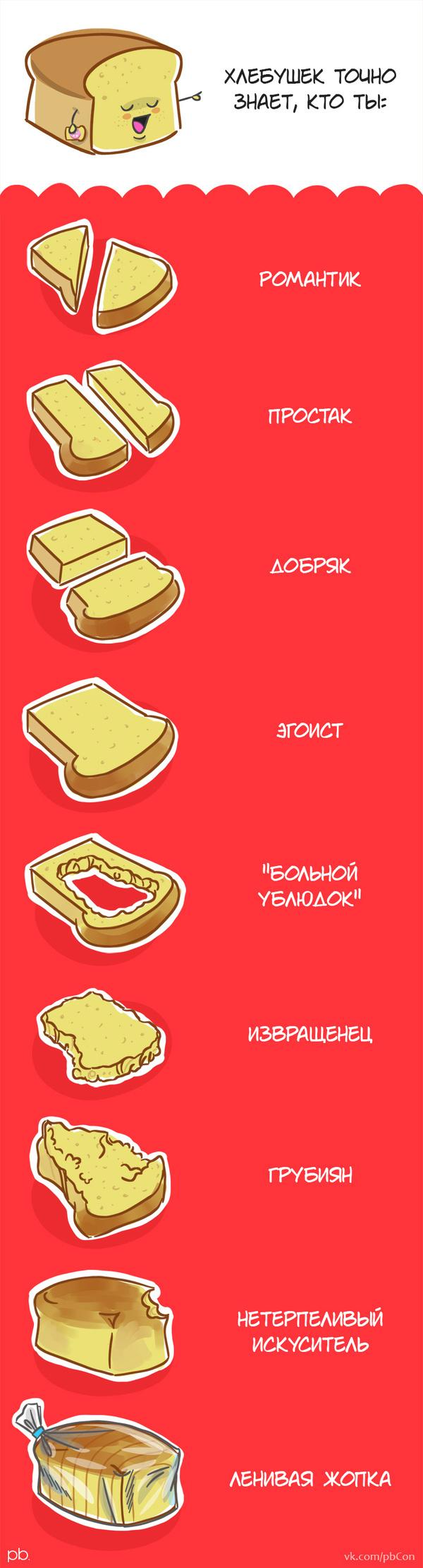 А кто ты? pbcon, хлеб, юмор, Комиксы, длиннопост