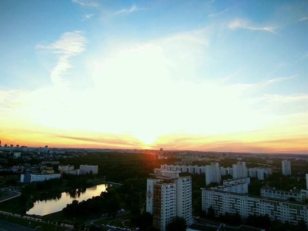 Минск - город невероятной красоты!