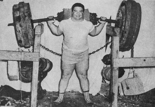 Самый большой вес когда-либо поднятый человеком Пол Андерсон, Тяжелая атлетика, Рекорд