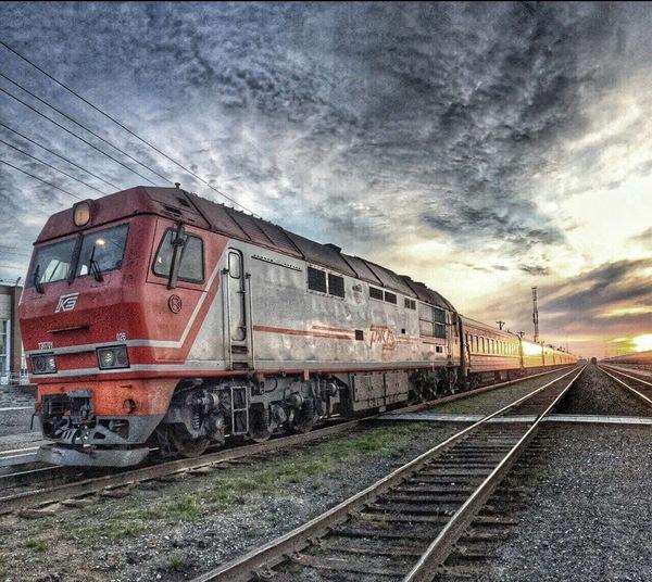 Железнодорожная атмосфера