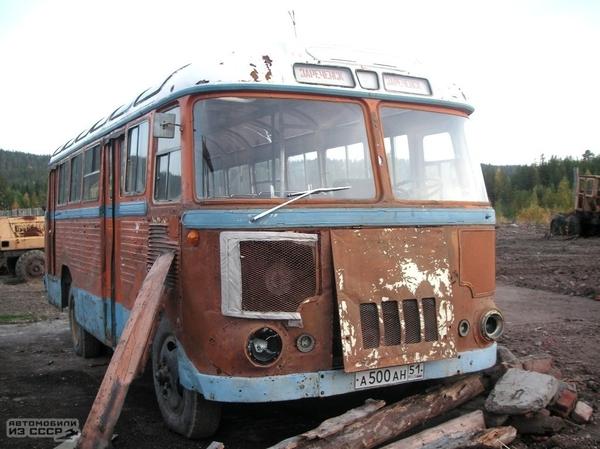 Единственный сохранившийся ПАЗ-652 Пазик, Автобус, Советский автопром, Длиннопост