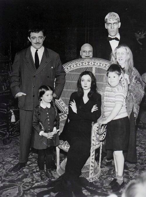 Семейка Адамс, 1964 год.