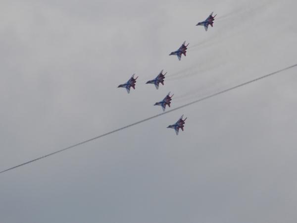 Магнитогорск отмечает день металлурга 2017 (самолётики) Магнитогорск, Длиннопост, День металлурга, 2017, Самолет