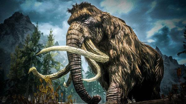 Четырехбивневые слоны палеонтология, слоны, Животные, Гомфотерии, длиннопост