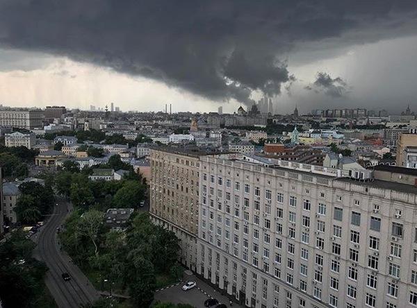 Москва до и после дождя Дождь, Москва, Небо, Красная площадь, Красота, Природа