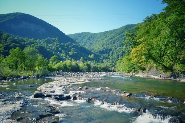 Река Сочинка фотография, сочи, Краснодарский Край, Река, длиннопост