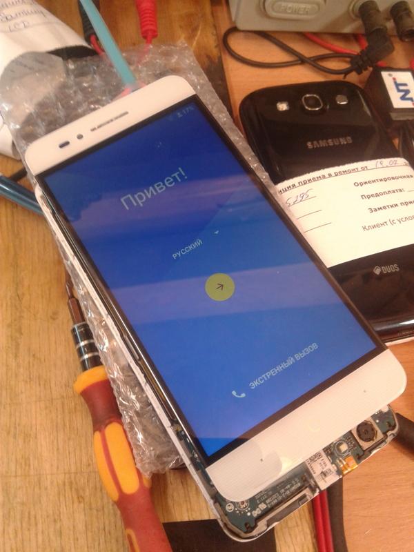 Замена дисплея ZTE A610 - двоится изображение Замена экрана, Zte a610, Длиннопост