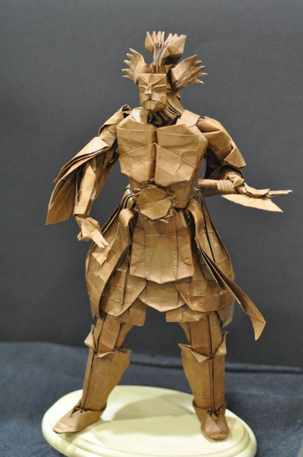 Шедевры Оригами: Hojyo Takashi - мастер антропоморфной скульптуры из бумаги. Оригами, Hojyo takashi, Антропоморфизм, Привет читающим тэги, Длиннопост