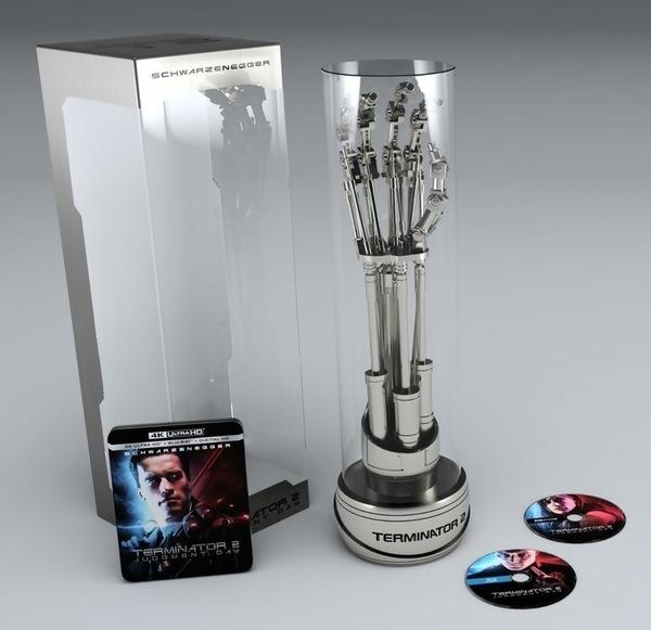 В коллекционное 4K-издание второго «Терминатора» войдёт рука робота T-800 Фильмы, Терминатор, Коллекционное издание