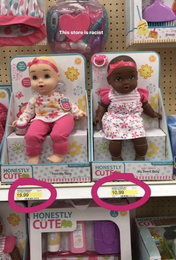 Политкорректность в США Кукла, Белые, Черные, walmart, США