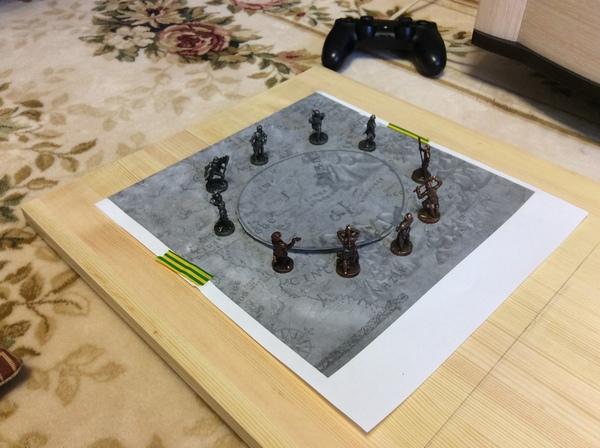 Доска для покера на костях, как это было Ведьмак, Покер на костях, Битва на Содденском Холме, Содден, Длиннопост