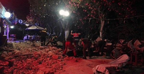 Последствия землетрясения в Греции (остров Кос) Землетрясения, Землетрясение, Кос, Греция, Природные катаклизмы, Катаклизм