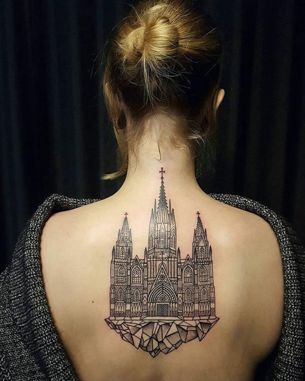 Как архитектура повлияла на искусство татуировки Тату, Tattoo, Искусство, Архитектура, Boredpanda, Фотография, Длиннопост