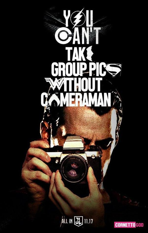 Фотограф для Лиги Справедливости Лига Справедливости, Dc comics, Супермен, бэтмен, постер, юмор, длиннопост