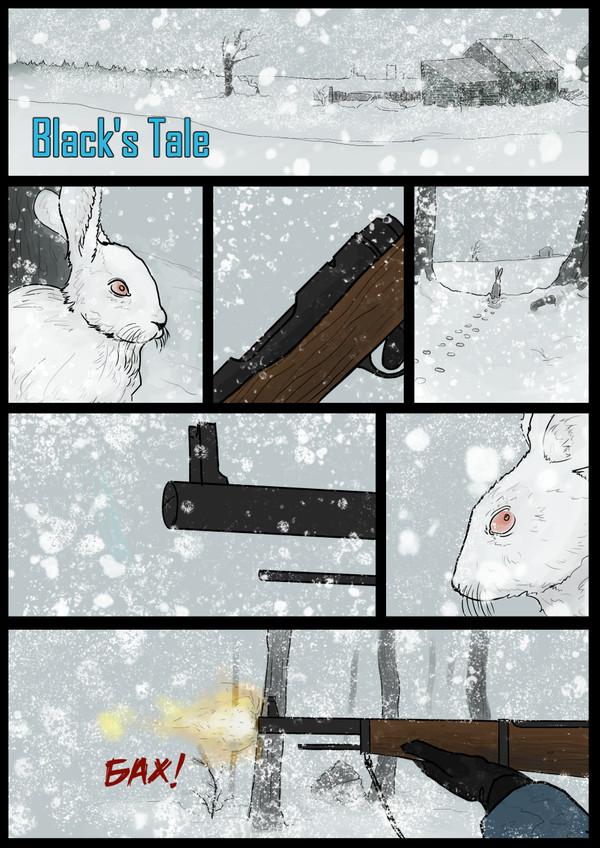 Black's Tale. Комиксы, постапокалипсис, зима, длиннопост