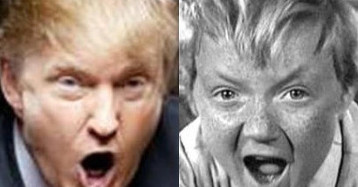 Трамп и вождь краснокожих картинка