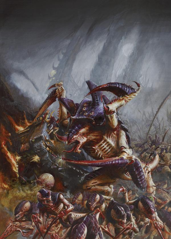 Тираниды - перевод из Индекс: Ксенос 2 Warhammer 40k, wh back, Тираниды, длиннопост