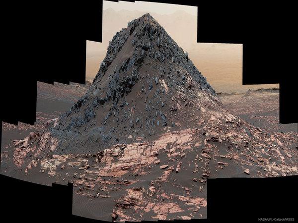 Ireson Hill - необычный холм на Марсе марс, Ireson Hill, космос